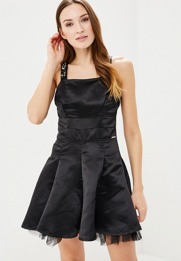 женское вечерние платье phard, черное