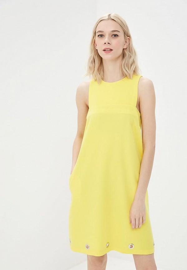 женское повседневные платье phard, желтое
