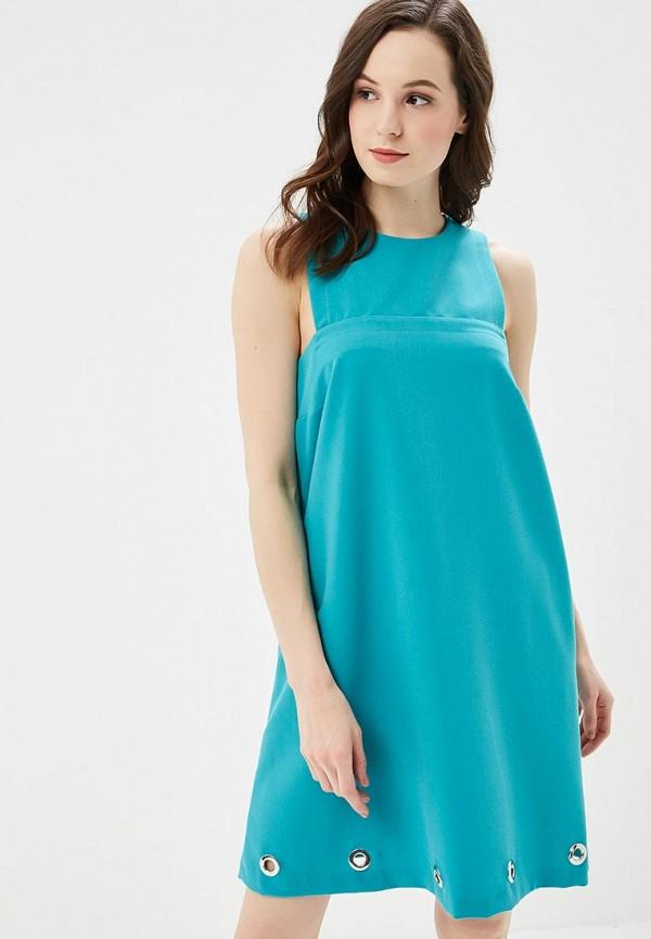 женское повседневные платье phard, бирюзовое