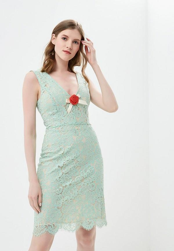 женское вечерние платье phard, бирюзовое