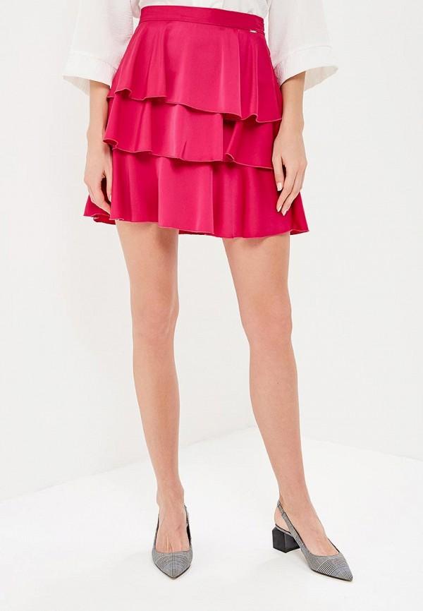 женская юбка phard, розовая