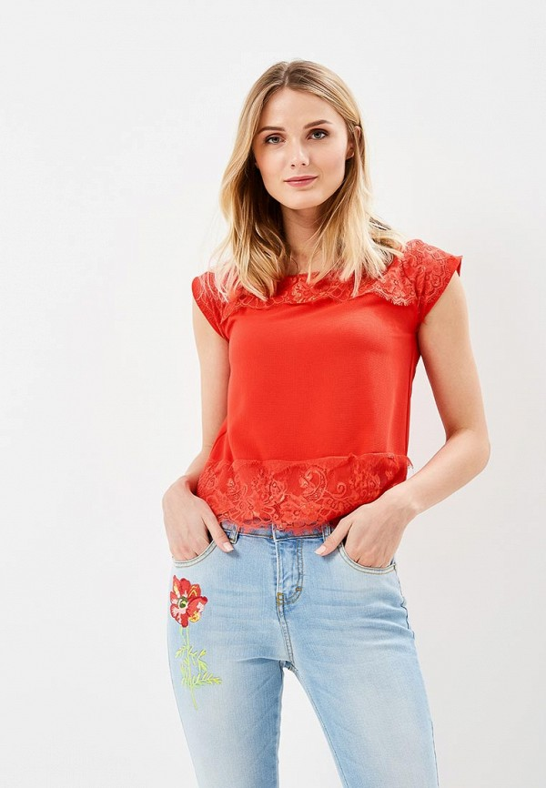 женская блузка phard, красная