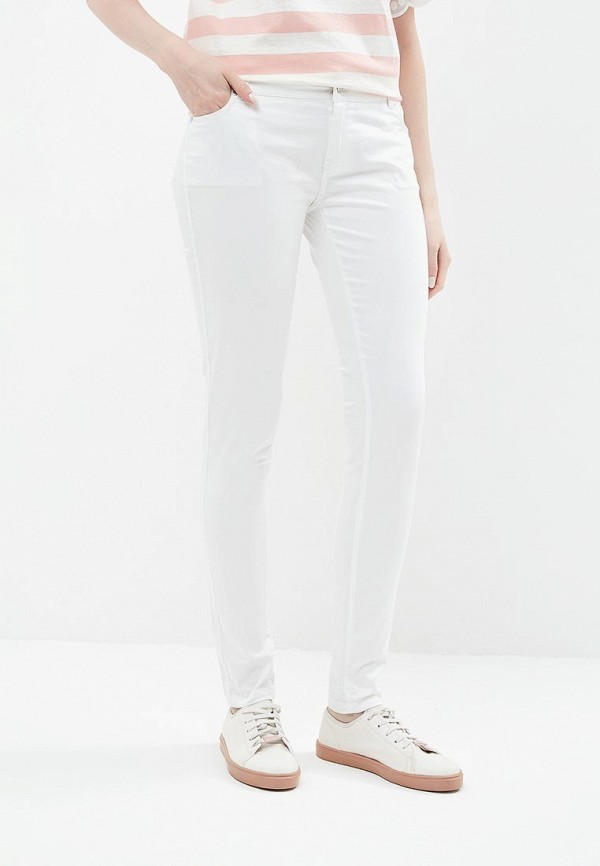 женские зауженные брюки phard, белые