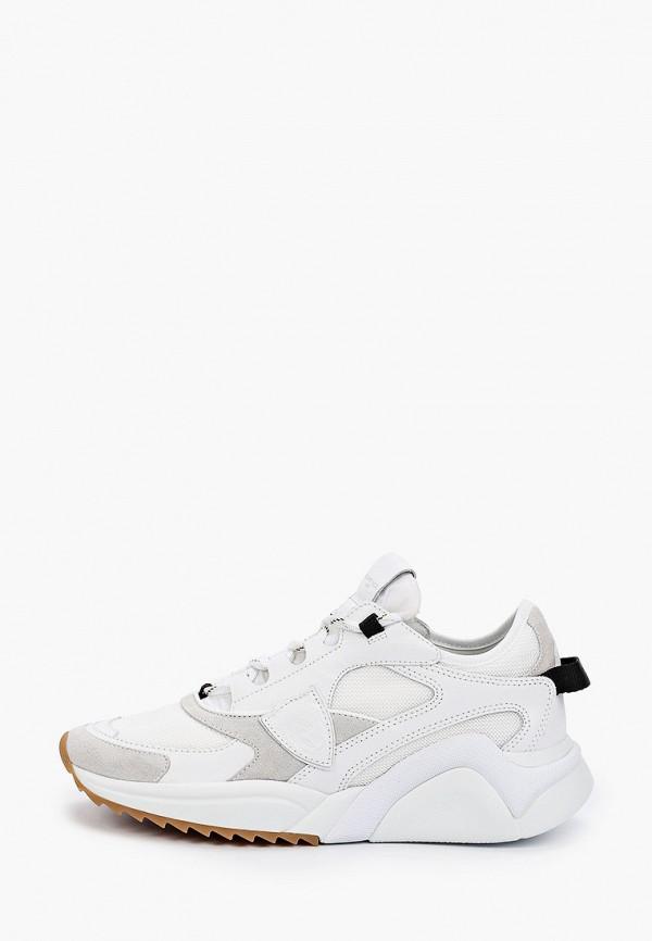 женские кроссовки philippe model paris, белые