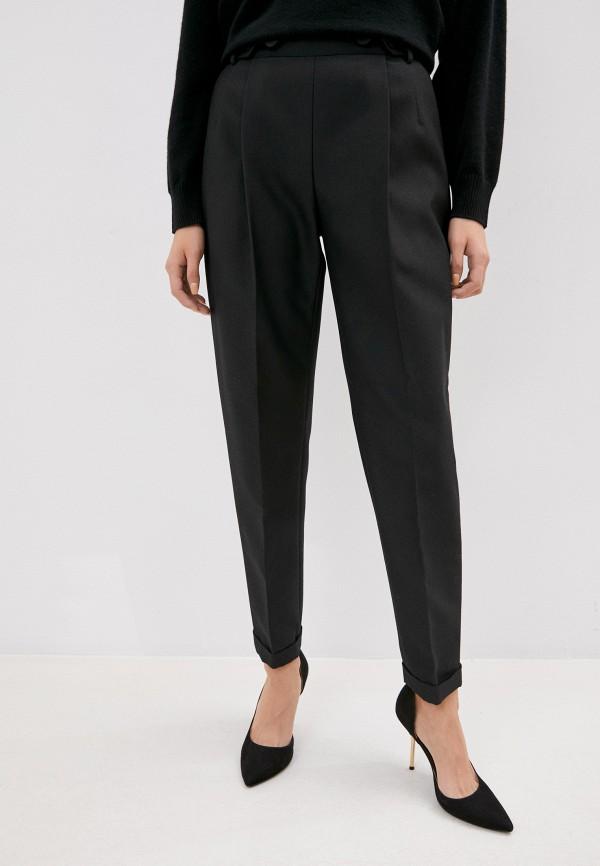 женские классические брюки philosophy di lorenzo serafini, черные