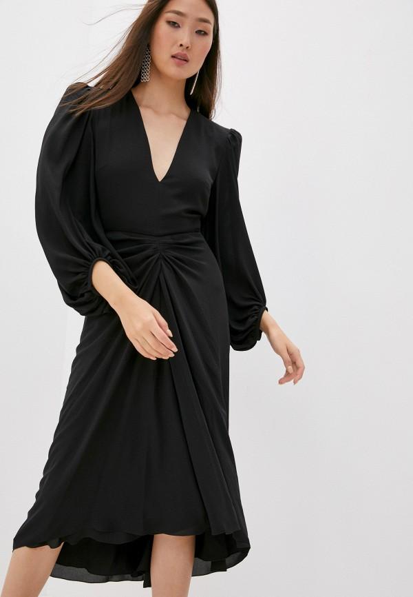 женское вечерние платье philosophy di lorenzo serafini, черное