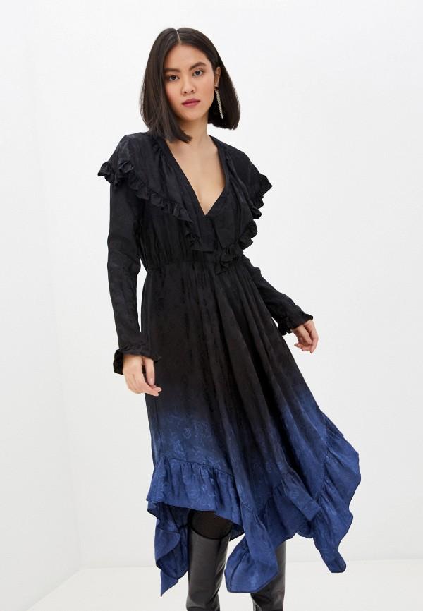 женское повседневные платье philosophy di lorenzo serafini, черное