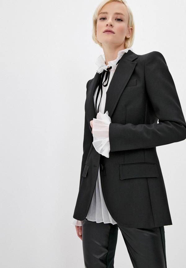 женский пиджак philosophy di lorenzo serafini, черный