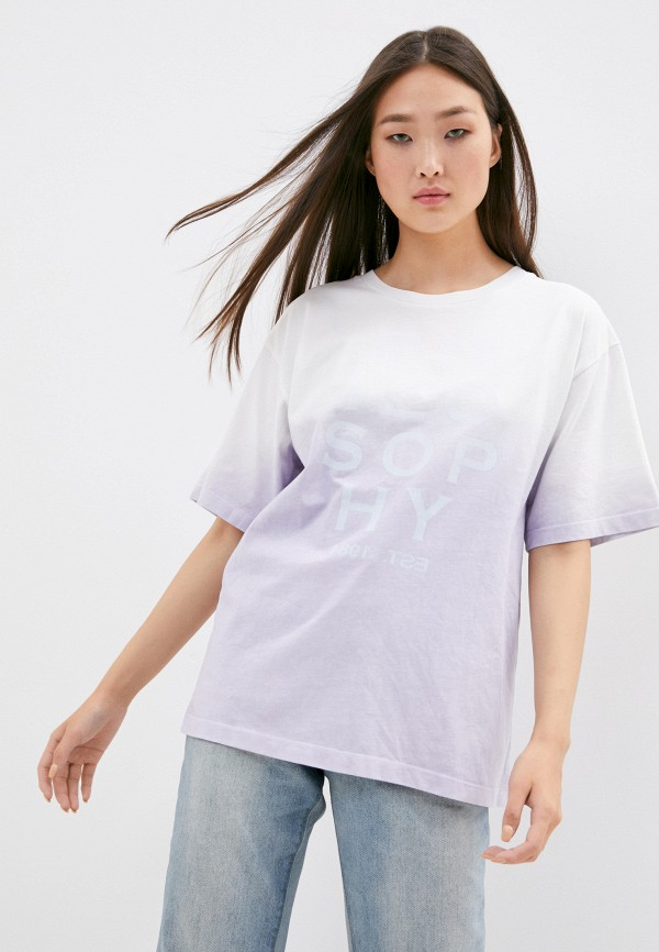 женская футболка philosophy di lorenzo serafini, белая