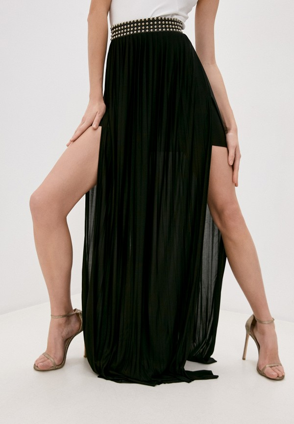 Юбка Philipp Plein черного цвета