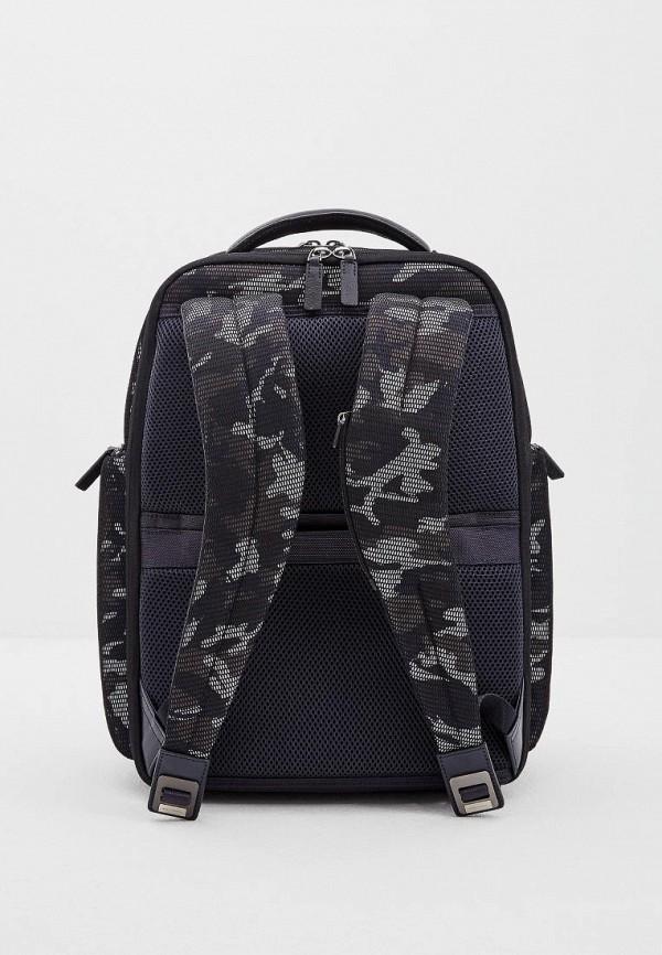 Фото 2 - мужской рюкзак Piquadro синего цвета
