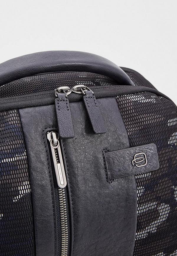 Фото 3 - мужской рюкзак Piquadro синего цвета