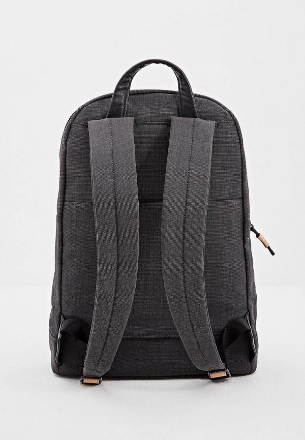 Фото 2 - мужской рюкзак Piquadro черного цвета