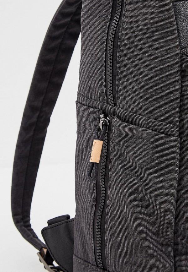 Фото 4 - мужской рюкзак Piquadro черного цвета