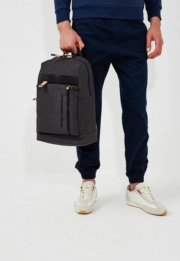 Фото 6 - мужской рюкзак Piquadro черного цвета