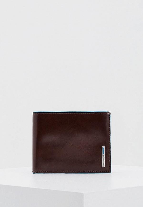 Фото - мужской кошелек или портмоне Piquadro коричневого цвета
