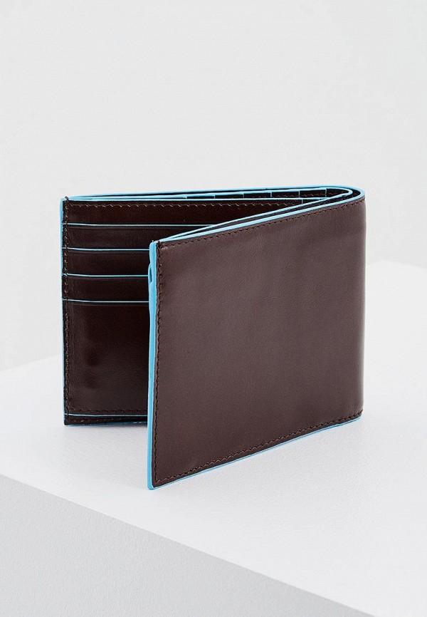 Фото 2 - мужской кошелек или портмоне Piquadro коричневого цвета