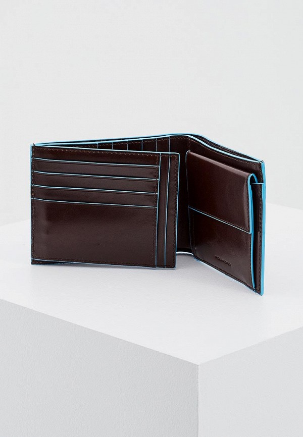 Фото 4 - мужской кошелек или портмоне Piquadro коричневого цвета