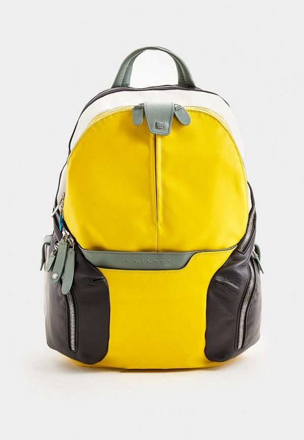 мужской рюкзак piquadro, разноцветный