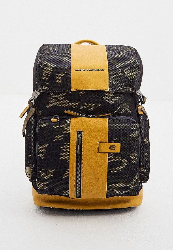 мужской рюкзак piquadro, желтый