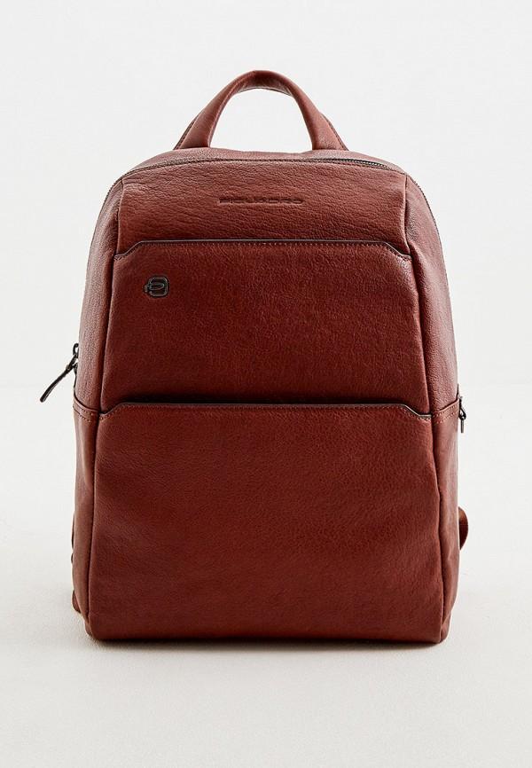 женский рюкзак piquadro, коричневый