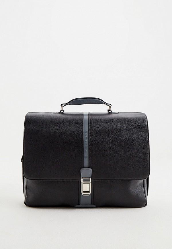мужской портфель piquadro, черный