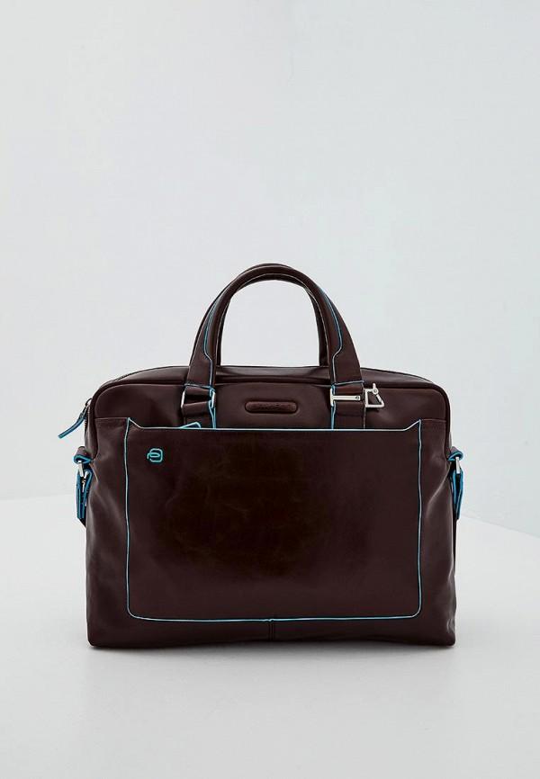 Купить мужскую сумку Piquadro коричневого цвета