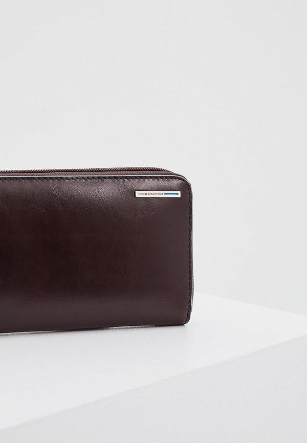 Фото 3 - мужской кошелек или портмоне Piquadro коричневого цвета
