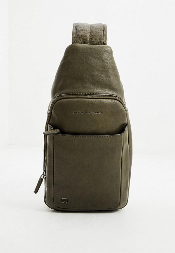 мужская сумка piquadro, хаки