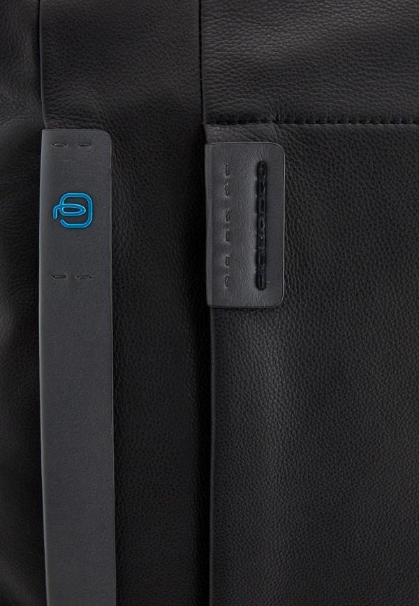 Фото 3 - мужской рюкзак Piquadro черного цвета