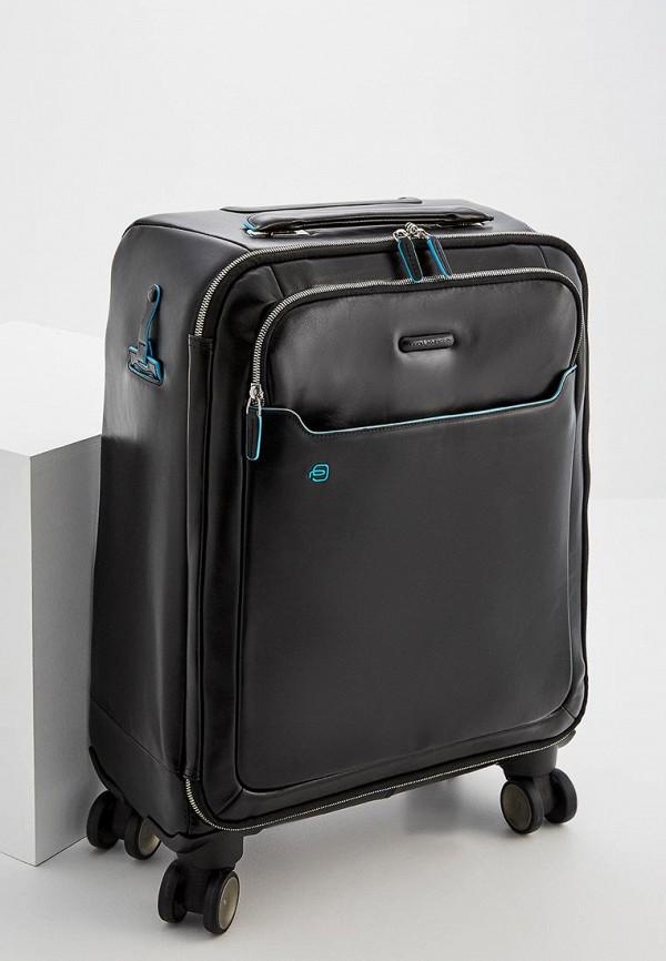 мужской чемодан piquadro, черный