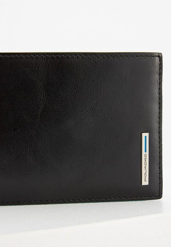 Фото 3 - мужской кошелек или портмоне Piquadro черного цвета
