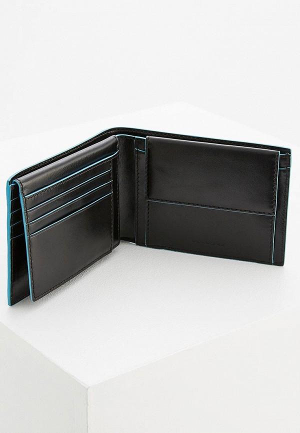 Фото 4 - мужской кошелек или портмоне Piquadro черного цвета