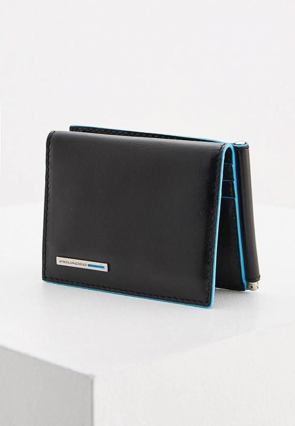 мужской кошелёк piquadro, черный