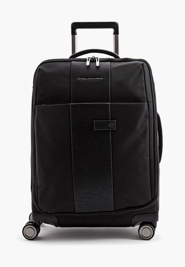 женский чемодан piquadro, черный