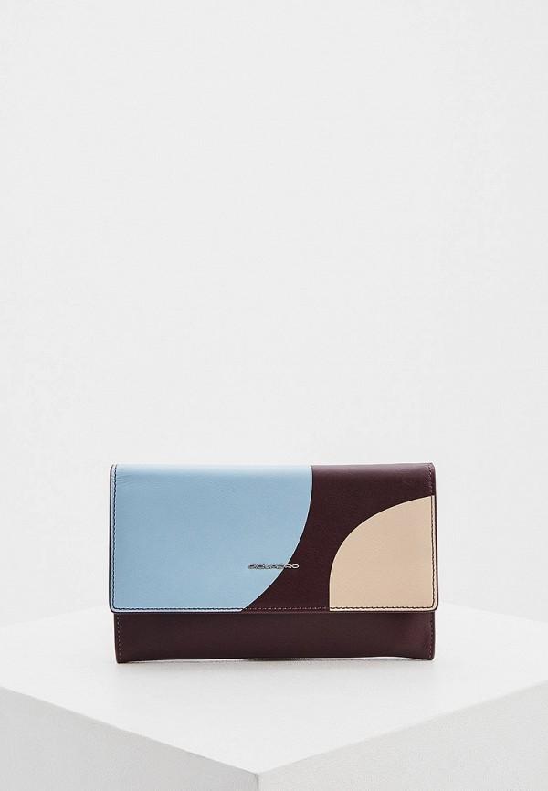 женский кошелёк piquadro, разноцветный