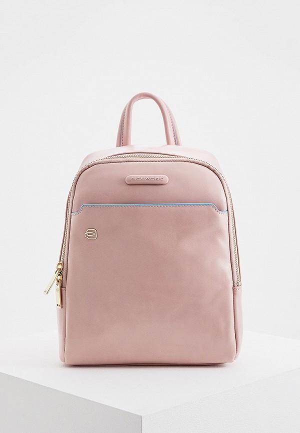 женский рюкзак piquadro, розовый