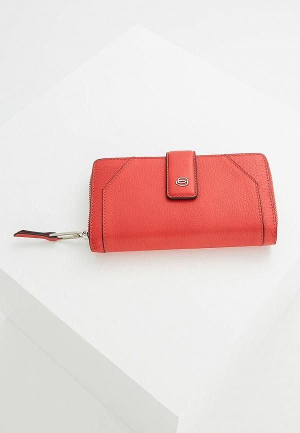 Купить Кошелек Piquadro, MUSE, pi016bwxvd33, красный, Весна-лето 2019