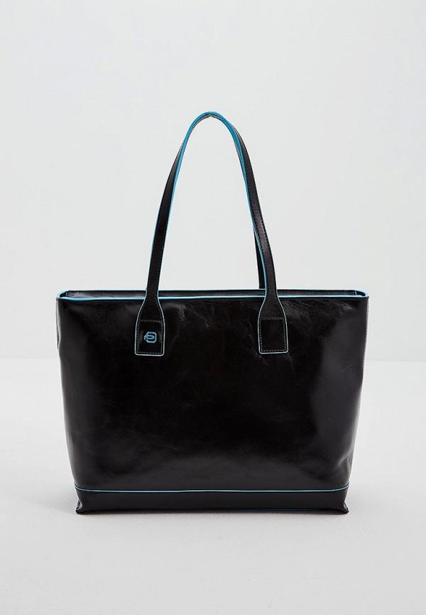 женская сумка piquadro, черная