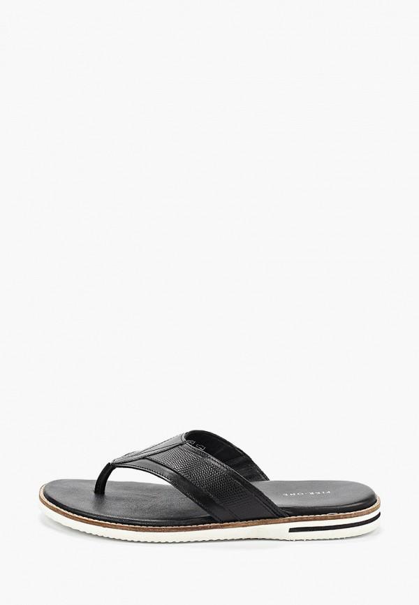 мужские сандалии pier one, черные