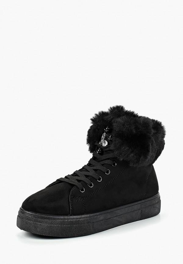 женские ботинки piazza italia, черные