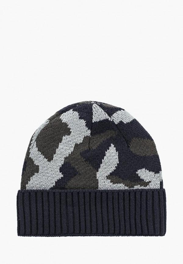 мужская шапка piazza italia, разноцветная