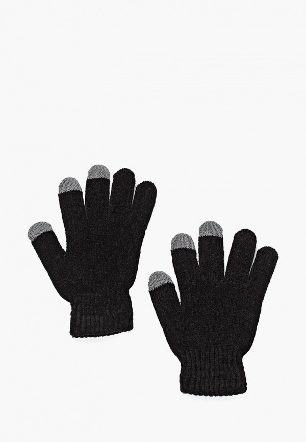 женские перчатки piazza italia, черные