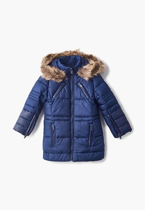 куртка piazza italia для девочки, синяя