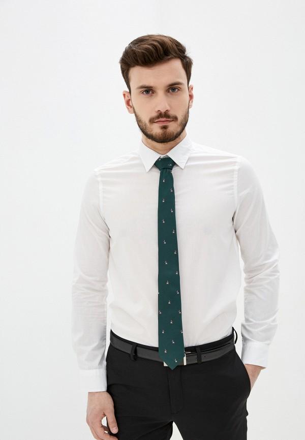 мужская рубашка с длинным рукавом piazza italia, белая