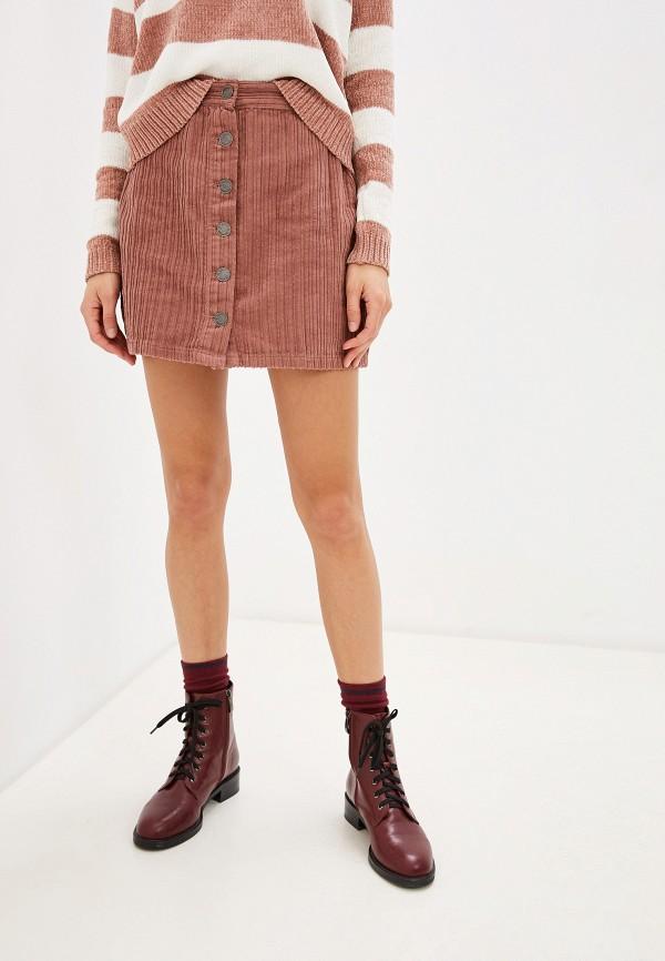 женская юбка piazza italia, розовая