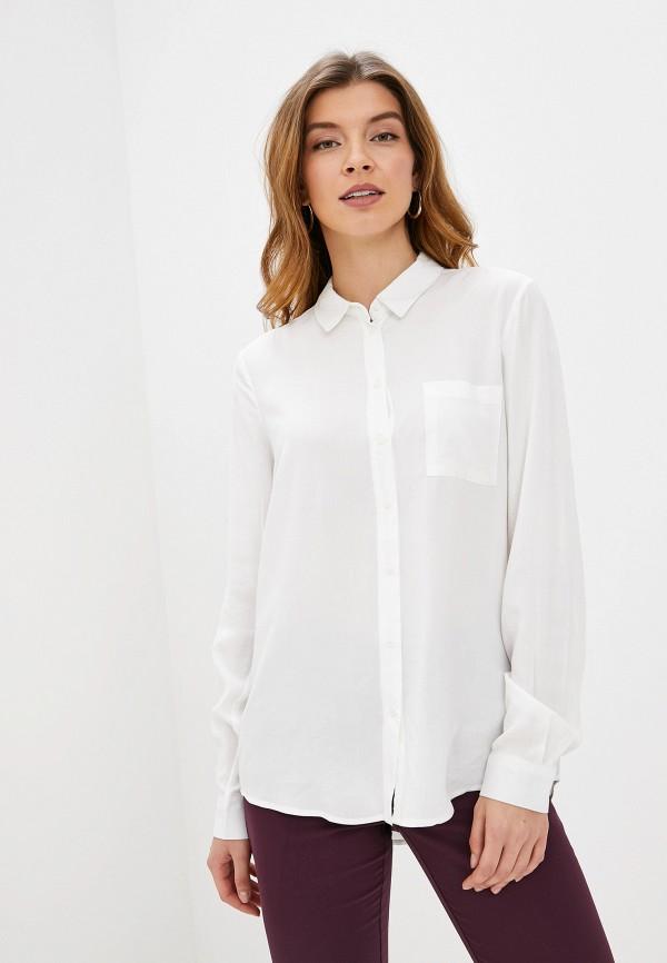 женская блузка с длинным рукавом piazza italia, белая