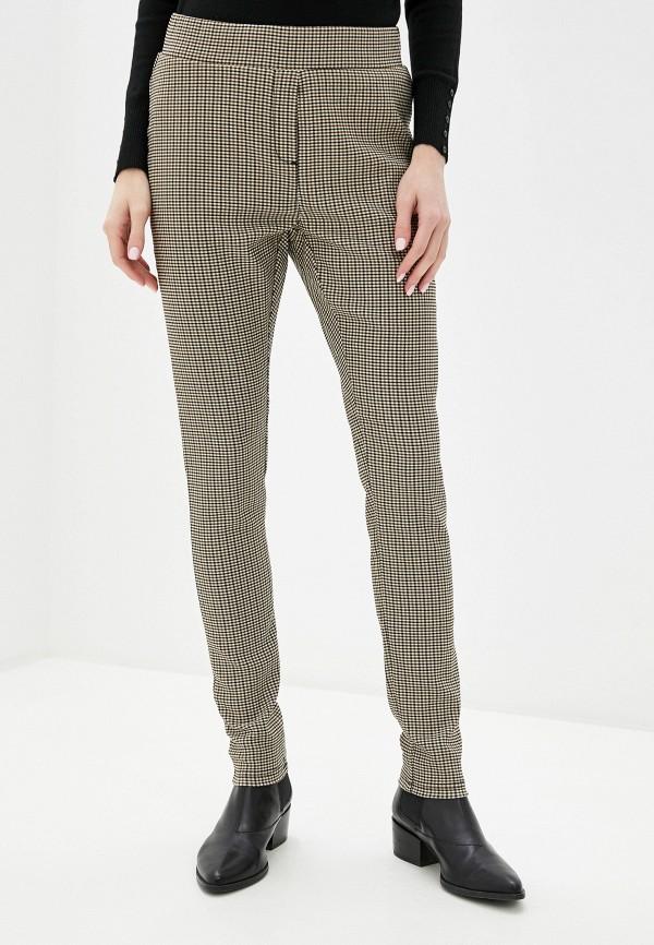 женские повседневные брюки piazza italia, бежевые