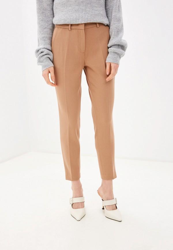 женские классические брюки piazza italia, бежевые