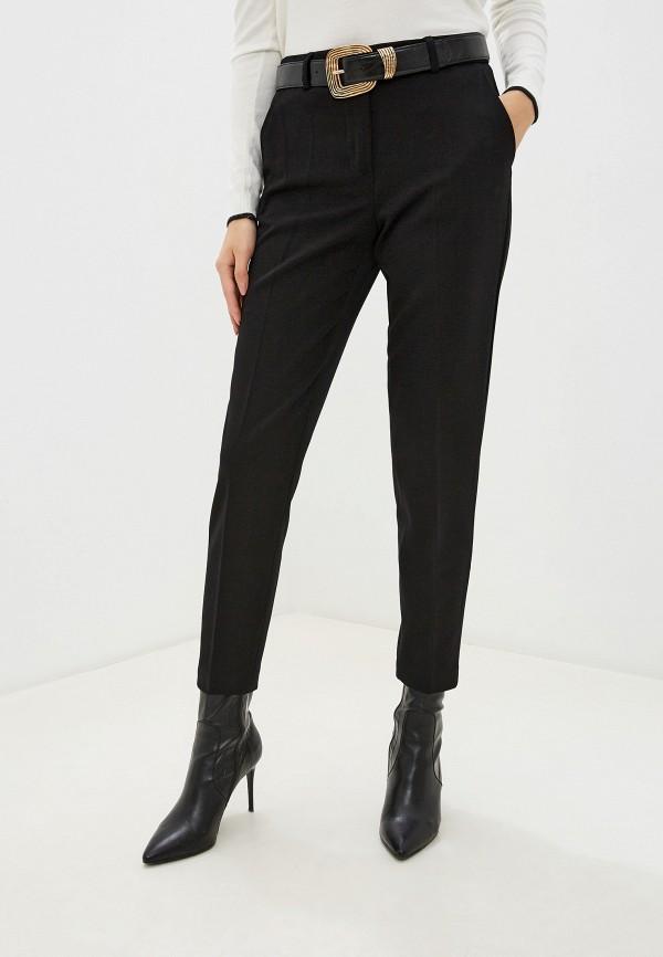 женские классические брюки piazza italia, черные
